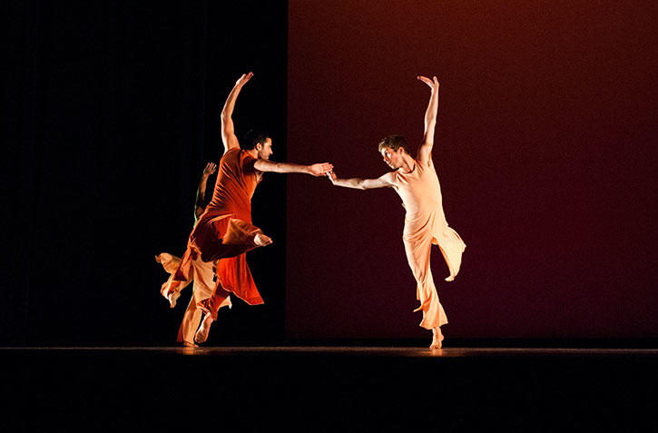 "Mason dancers in ""Swing Shift"" by David Parsons 2012"